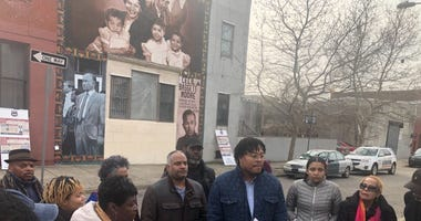 The Philadelphia Freedom Fighters who once worked with lawyer and activist Cecil B. Moore celebrated less than a week after the mural of the beloved mentor was defaced.
