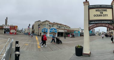 Ocean City, N.J., boardwalk