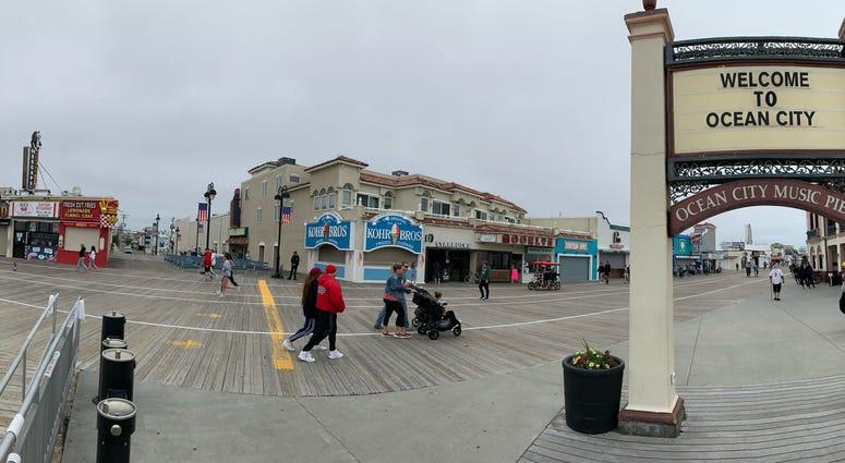 Ocean City, N.J., boardwalk