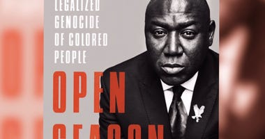 """Civil rights attorney Ben Crump's book """"Open Season: Legalized Genocide of Colored People,"""" discusses inequalities in the criminal justice system."""