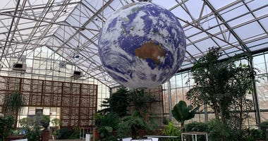 An installation at The Fairmount Park Horticultural Center.