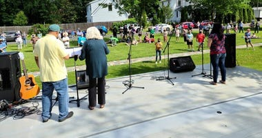 Church leaders in Burlington County addressed the recent unrest and racial tension at a rally for healing in Moorestown.