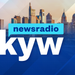KYW Blue Background Skyline Logo