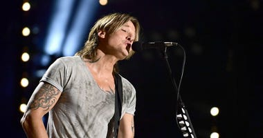 Nashville, Tennessee - Keith Urban. 2018 CMA Music Fest Nightly Concert held at Nissan Stadium.