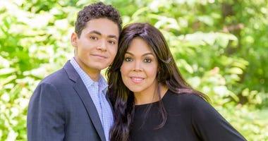 Muhammad Ali's grandson, Jacob Ali-Wertheimer, and daughter, Khaliah Ali Wertheimer.