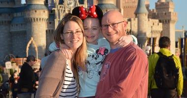 Dan Lahr and his family.