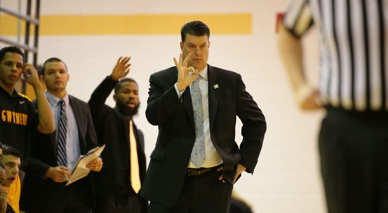 Gwynedd Mercy University men's basketball coach John Baron.