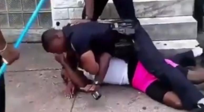 Screenshot of Arthur Williams during an alleged assault