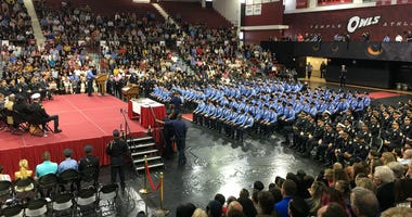 Philadelphia Police Department graduates