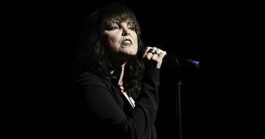 Nov 3, 2016; West Palm Beach, FL, USA; Pat Benatar performs at the Kravis Center.