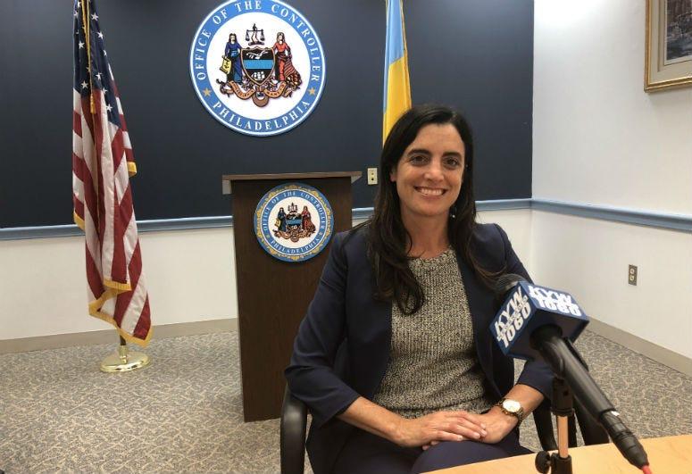 City Controller Rebecca Rhynhart