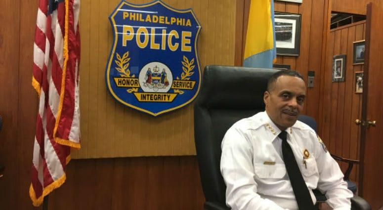 Philadelphia Police Commisioner Richard Ross