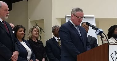 Mayor Jim Kenney announces Philadelphia Safe Return program