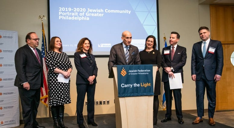The Jewish Federation of Greater Philadelphia announces results of a new survey.