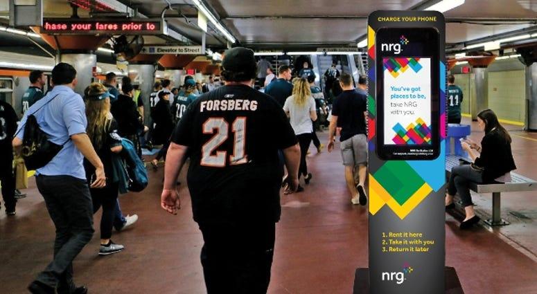 NRG Go portable battery packs