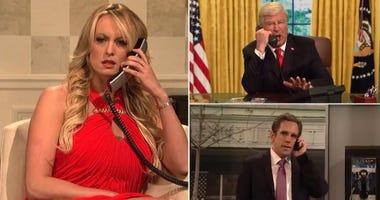 Stormy Daniel on SNL