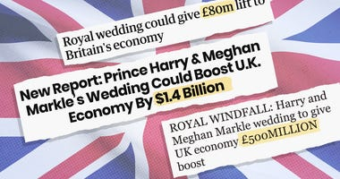 Parts of the British press have been predicting a big boost for the struggling UK economy.