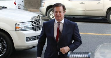 Former Trump campaign manager Paul Manafort arrives at the E. Barrett Prettyman U.S. Courthouse for a hearing on June 15, 2018 in Washington, DC.