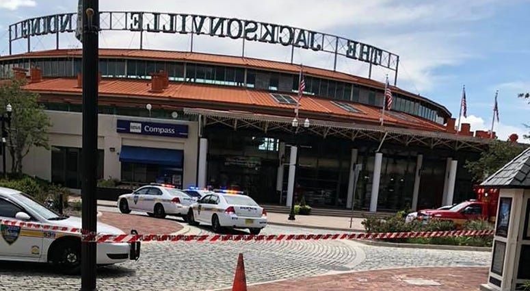 A shooting occured at the Jacksonville Landing, a downtown shopping-dining complex in Jacksonville, Florida on Sunday.