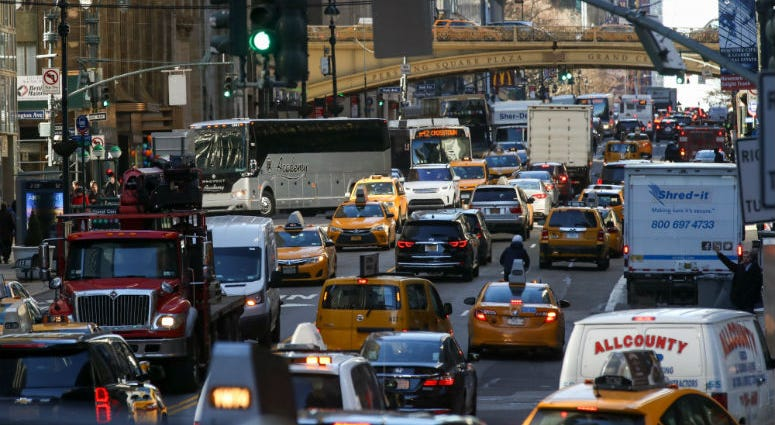 Drivers for Uber, Lyft and other ridehailing companies will soon get a minimum wage in New York City.