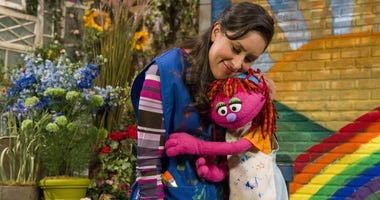 "For the first time, a resident of ""Sesame Street"" is experiencing homelessness."
