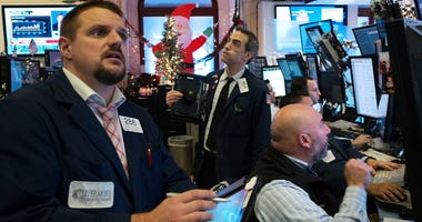 Stocks try to round out 2018 with a big gain