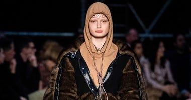 Burberry noose hoodie