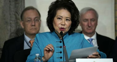 Transportation Secretary Elaine Chao has continued to hold stock in a company she said she would divest from a year prior, The Wall Street Journal reported Tuesday.