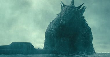 """""""Godzilla: King of the Monsters,"""" was king of the weekend box office, beating out """"Aladdin"""" and Elton John's biopic, """"Rocketman."""""""