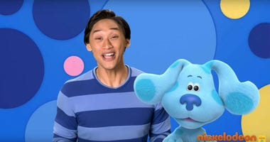 """Nickelodeon is rebooting the beloved children's show with a new host and a CGI blue pup. Joshua Dela Cruz is the host of """"Blue's Clues & You."""""""