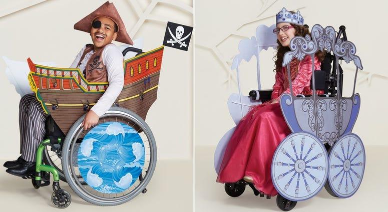 Adaptive Halloween costumes