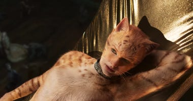 "The first trailer for the movie ""Cats"" has arrived."