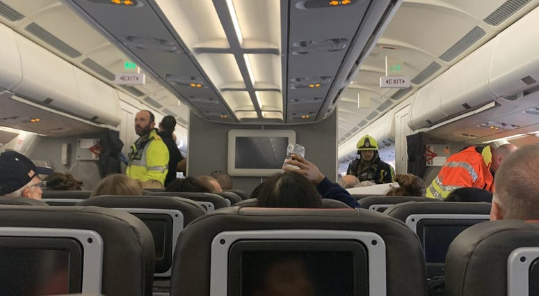American Airlines chemical spillage