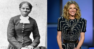 Harriet Tubman and Julia Roberts