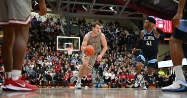 Saint Joseph's University guard Ryan Daly leads the team in scoring, rebounding and assists.