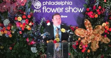 Pennsylvania Horticultural Society Chief of Shows & Events, Sam Lemheney