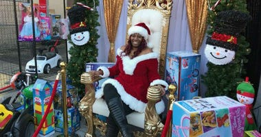 Saudia Shuler held a massive Christmas block party last year, in which she gave gifts to hundreds of kids. On Tuesday, she was charged with Social Security fraud.