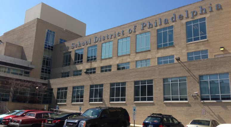 The School District of Philadelphia Headquarters.