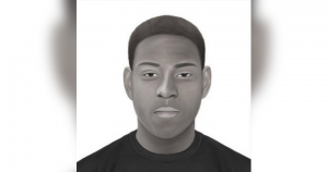 Sketch of a suspect in a Northeast Philly sexual assault