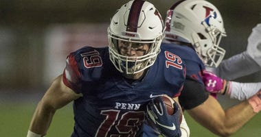 Penn senior wide receiver Steve Farrell had a career game in Friday's loss to Yale.