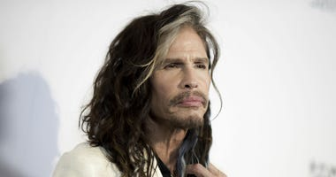 "In this May 7, 2016, file photo, Steven Tyler attends ""To the Rescue: Saving Animal Lives"" Gala and Fundraiser held at Paramount Pictures Studio in Los Angeles."