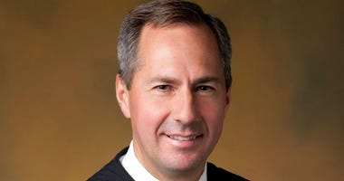 Official portrait of federal judge Thomas Hardiman