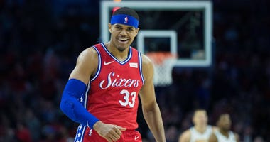 Philadelphia 76ers forward Tobias Harris