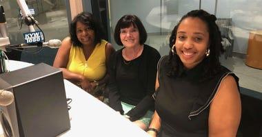 Tracey Hanton, Cheryl Carleton and Shalimar Thomas