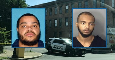 Left: Tahaij Wells, 33, deceased -- Right: Amir Armstrong, 23, Stable