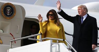 President Donald Trump / First Lady Melania Trump