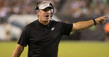 Philadelphia Eagles head coach Doug Pederson