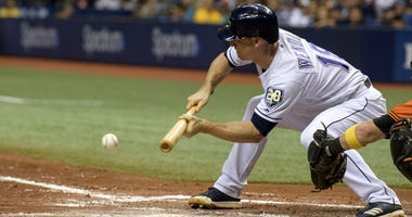 Tampa Bay Rays second baseman Joey Wendle