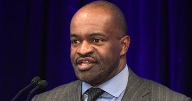 NFLPA Executive Director DeMaurice Smith during the NFLPA press conference at the Georgia World Congress Center.