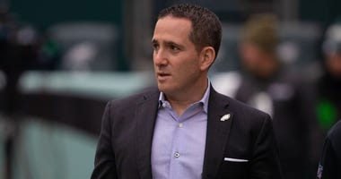 Philadelphia Eagles general manager Howie Roseman before a game against the Seattle Seahawks at Lincoln Financial Field.